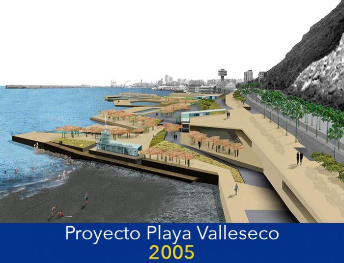 LLEVAN PROMETIENDO UNA PLAYA EN VALLESECO DESDE 2005