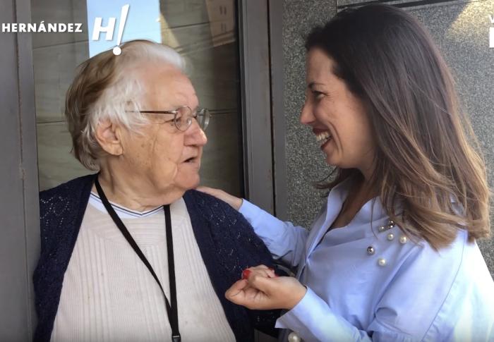 Patricia Hernández recorrer Nuevo Obrero-Cobasa