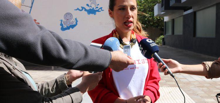 Patricia Hernández como mínimo duplicará en cuatro años el número de plazas de escuelas infantiles públicas y trabajará para triplicarlas