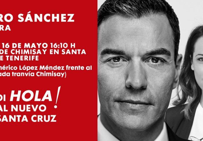 ¡Pedro Sánchez en Ofra!
